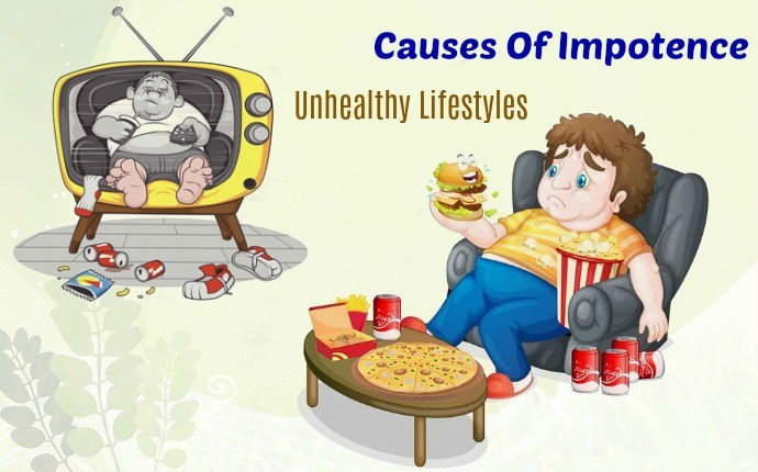 causes of impotence - unhealthy lifestyles