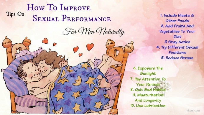 how to improve sexual performance for men
