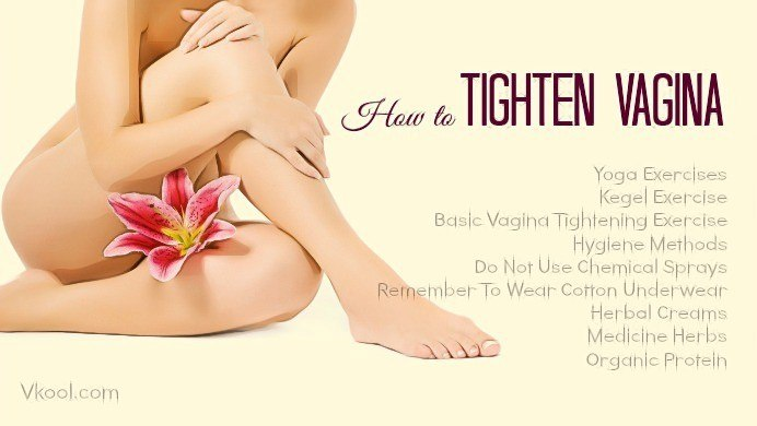 how to tighten vagina naturally