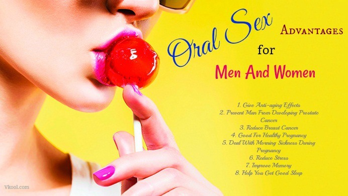 oral sex advantages for men