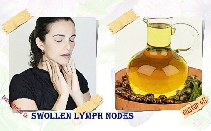home remedies for swollen lymph nodes - castor oil