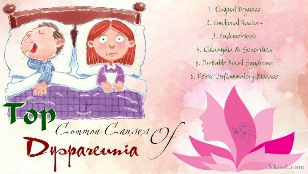 common causes of dyspareunia