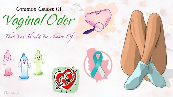 common causes of vaginal odor