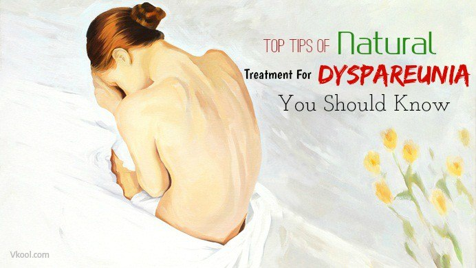 natural treatment for dyspareunia