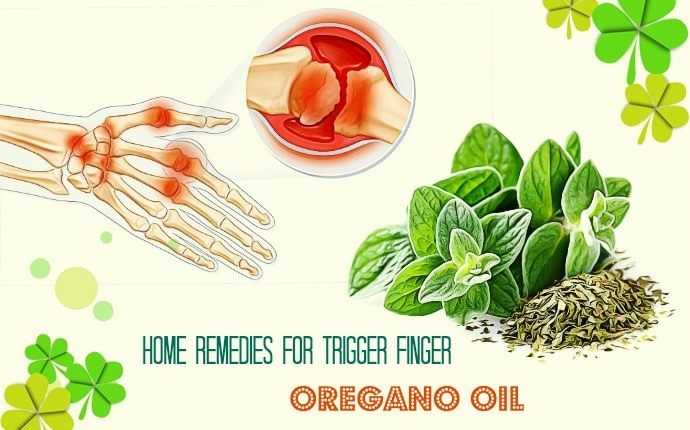 home remedies for trigger finger - oregano oil