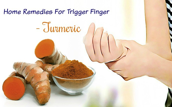 home remedies for trigger finger - turmeric