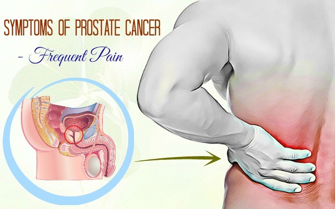 symptoms of prostate cancer - frequent pain