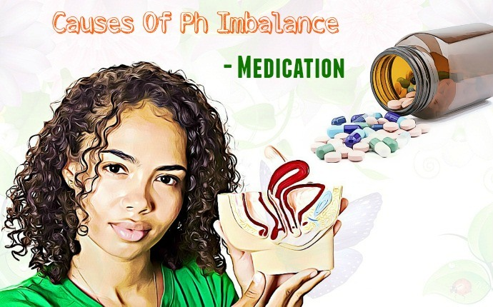 causes of ph imbalance - medication