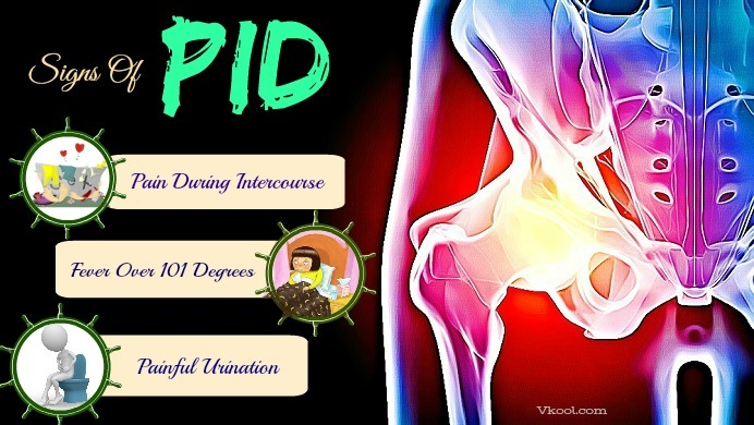 early signs of pid