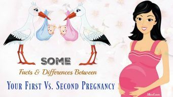differences between your first vs. second pregnancy