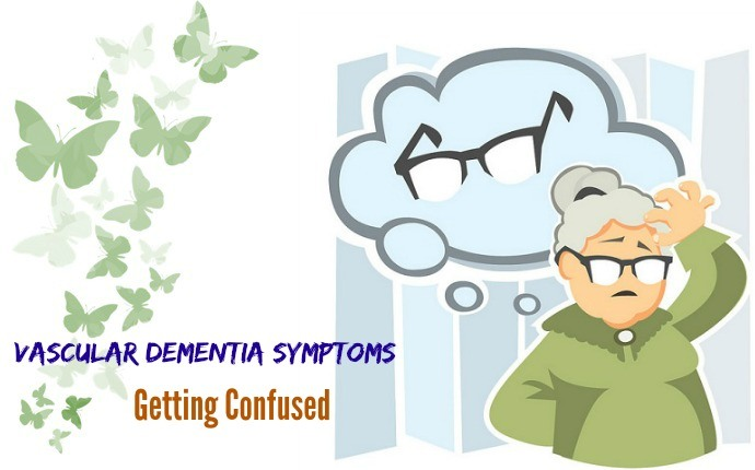 vascular dementia symptoms - getting confused