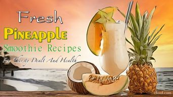 fresh pineapple smoothie recipes