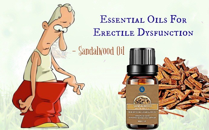 essential oils for erectile dysfunction - sandalwood oil