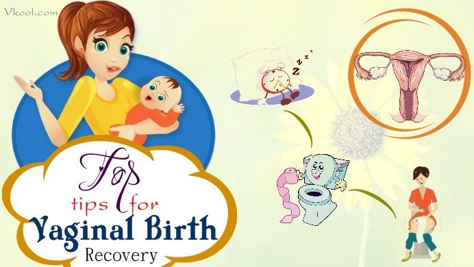 tips for vaginal birth recovery