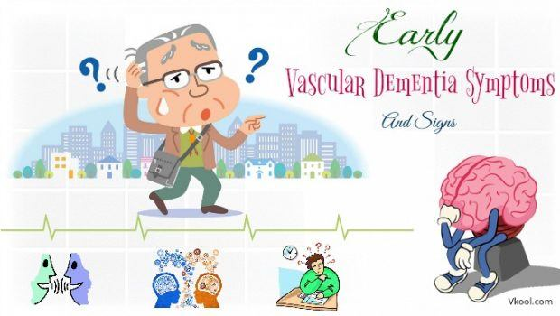 early vascular dementia symptoms